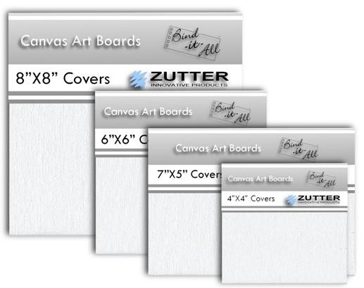 """Canvas Art Board Covers WEISS 6 """" x 6 """" ( 2 Stück ) 2797"""