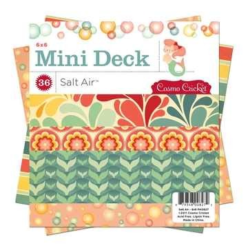 "Cosmo Cricket Mini Deck Papierblock Salt Air 6 "" x 6 "" PAD827"