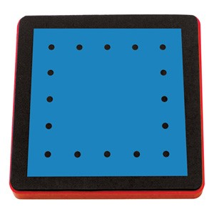 Allstar Quadrat zum Schnüren / lacing square A 10750