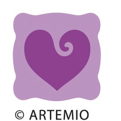 Artemio Happycut Stanzform 5,2 x 5,2 cm Herz / love # 2 18020002