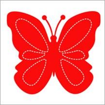 Allstar Schmetterling / butterfly A 10120