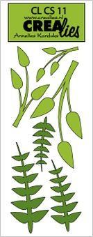 Crealies Stanzform Creative Shapes # 11 Zweige CLCS-11( grün )