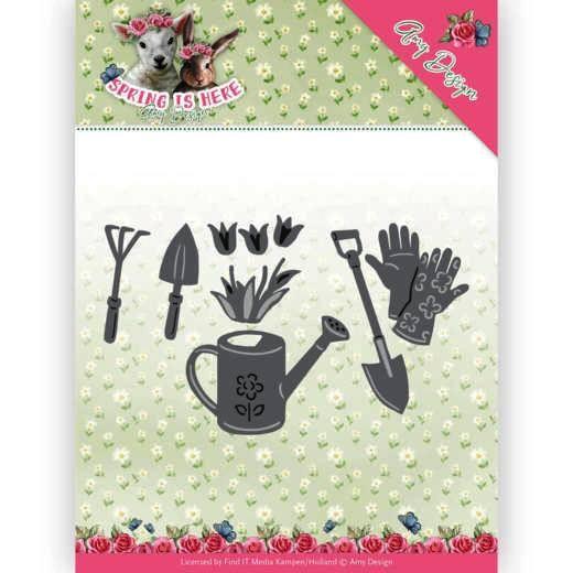 Amy Design Stanzform Gartenwerkzeuge / Garden Tools ADD10170