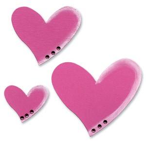 Sizzix Stanzform Originals LARGE Herzen Tipsy / hearts tipsy 654983