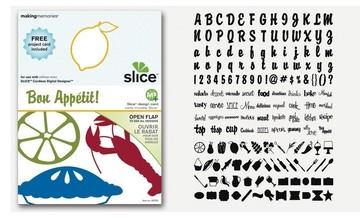 SLICE Design Karte Bon Appetit ( MS + ) 33753