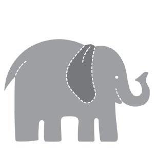 AccuCut Zip'e Slim Stanzform Elefant / Elephant 41379