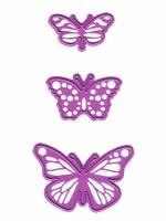Joycrafts Stanz-u. Prägeform Schmetterlinge 6002/0027