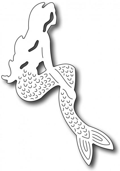 Frantic Stamper Stanzform Meerjungfrau / Mermaid FRA-DIE-09297