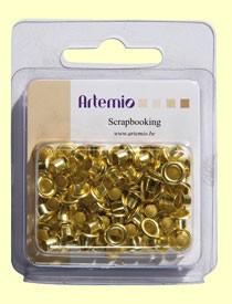 Ösen GOLD 0,8 cm 11006075