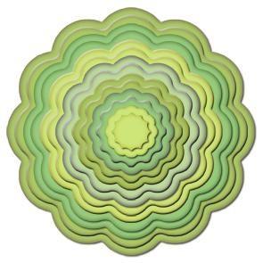 Big Scalloped Circle small 11 S4-250