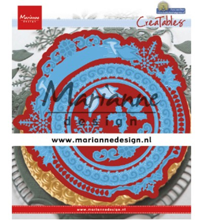 Marianne D Stanzform Creatables Winter Circle LR0627