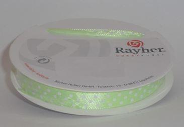 Punktband, 9,5 mm, SB-Rolle 10 m, HELL-GRÜN 55-406-11