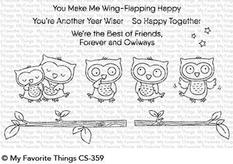 My Favorite Things Clearstempel Eulen / Forever and Owlways CS-359