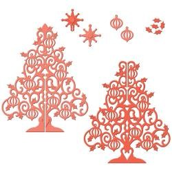 Spellbinders Stanz-u. Prägeform 3-D Weihnachtsbaum / 3-D Christmas Tree S6-014 / 4290390