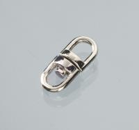 Wirbel für Schlüsselring drehbar silber 9743008