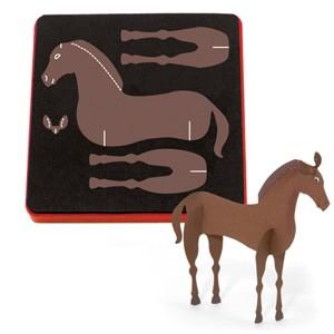 Allstar Pferd 3 - D / horse 3 - D A 10736