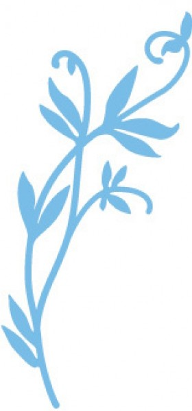 Marianne D Creatables Garten-Zweig / branch garden LR0151