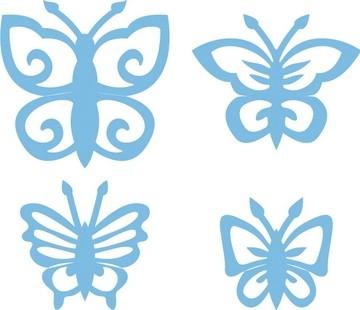 Marianne D Creatables Schmetterlinge / butterflies LR0158