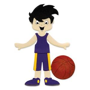Sizzix Stanzform Originals LARGE Basketball-Outfi & Basketball / Dress Ups Basketball uniform & ball