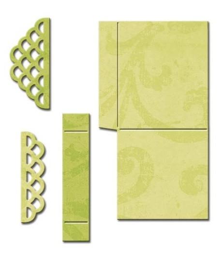 Spellbinders Stanz- u. Prägeform Pop-Up Box gewellt / Scalloped Pop Up Box S5-233 / 4290312