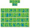 Alphabet Crop it Großbuchstaben 22502