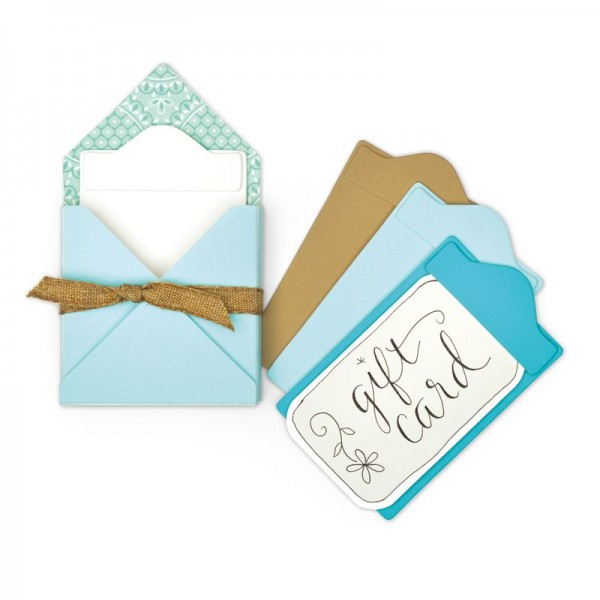 Sizzix Stanzform BIGZ L Gift Card Folder & Label # 2 663637