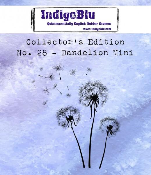 IndigoBlu Clingstempel Collector' s Edition No. 28 Dandelion Mini IND540