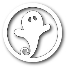 Memorybox Stanzform Gespenst im Kreis / Swirly Ghost Circle 99504