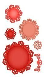 Spellbinders Stanzform Floral Doily Motifs S5-041