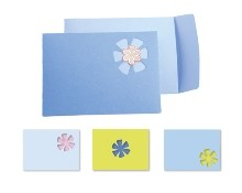 Sizzix Stanzform BIGZ XL Movers & Shapers Envelope, Note Card & Flower (Kit #4) 654783