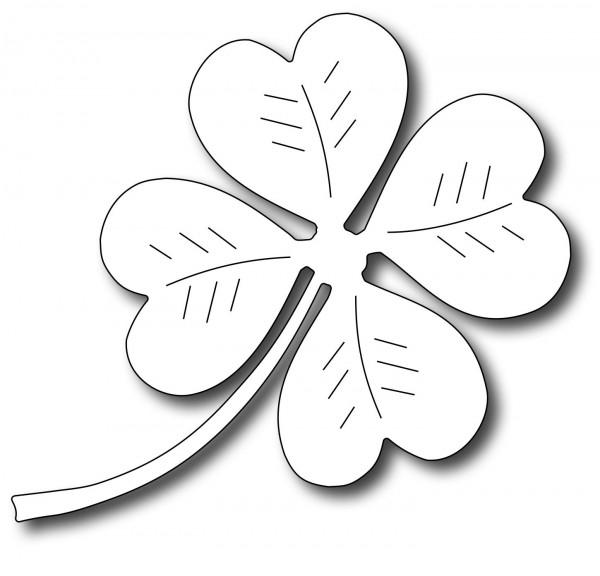 Frantic Stamper Stanzform Kleeblatt / Four Leaf Clover FRA-DIE-09394