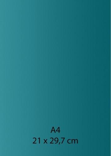 Pearl Papier A 4 MEER-GRÜN/dunkel-TÜRKIS mit Klebefolie 652000/1