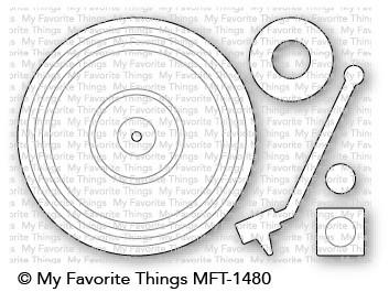 Dienamics Stanzform Schallplattenspieler / Turntable MFT-1480
