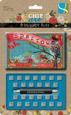 Präge-Alphabet Sparrow 501