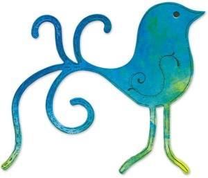 Sizzix Stanzform BIGZ Vogel / Bird Lovebird 655361