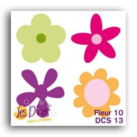 Toga Stanzform Blumen 10 / Fleur 10 DCS13