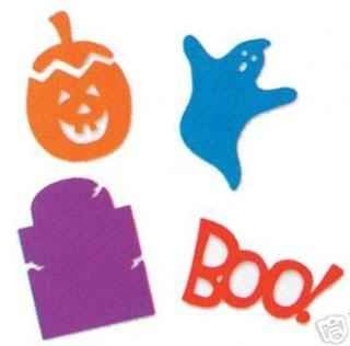 Sizzix Stanzform Sizzlits SMALL 4-er Set Halloween Set 38-9696