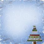 Lasting Impressions Scrapbookpapier Vintage Christmas YULETIDE YUL121