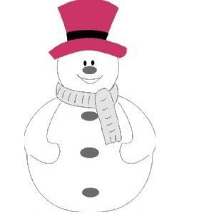 Go Kreate Stanzform Schneemann # 1 / snowman # 1 110057