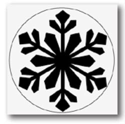 Martha Stewart Giant Himalayan Snowflake M232301