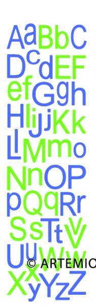 Artemio Happycut Stanzform 6,8 x 21,1 cm Alphabet Standard 18033001