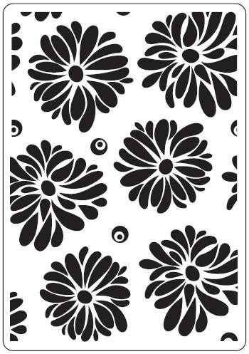 Prägefolder exclusiv Flowers CTFD3027