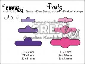 Crealies Add Ons Aufhängelöcher CLPartz04