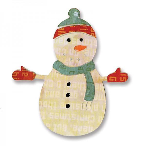 Sizzix Stanzform Sizzlits SMALL 1-er Schneemann # 7 / snowman # 7 657229