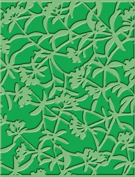 Cuttlebug Prägefolder Blumiges / floral screen 37-1610