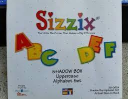 Shadow Box Alphabet / alphabet 38-0624