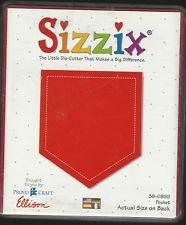 Sizzix Stanzform Originals LARGE Tasche / pocket 38-0900