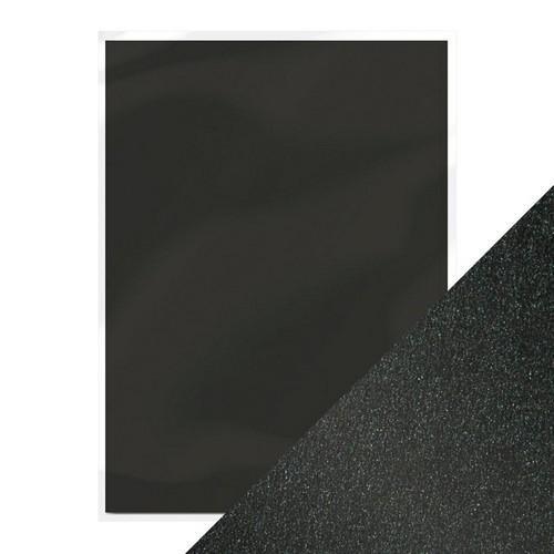 Tonic Studios Pearlescent Card ONYX BLACK ( SCHWARZ ) 9498E