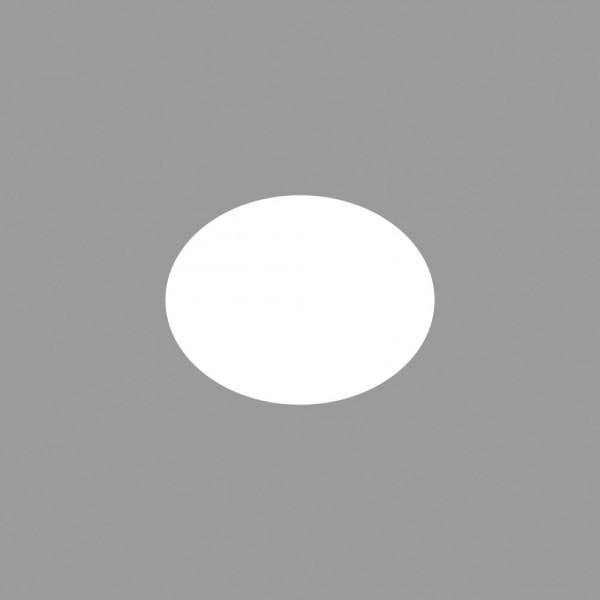 Rayher Motivstanzer Oval Breite 3,8 x 2,8 cm 89-646-00 (gelb )