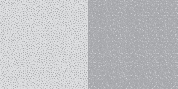 Dini Design Scrapbook-Papier Punkte / Blumen Steingrau ( dunkel-grau ) 2008